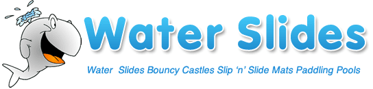 Small Water Slides Inflatable Bouncy Castles and Paddling Pools Logo