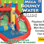 Inflatable Water Slide & Bouncy Castles